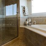 A bathroom we restored in Plano Texas on 5/6/19