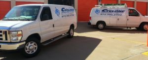 Cyclone Professional Cleaners Vans
