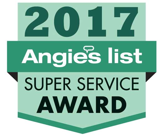 2017 Super Service Award - Angie's List Logo