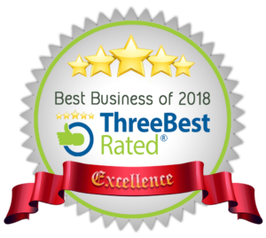 Three Best Rated - Best Business of 2018 Logo