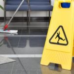 A commercial building our cleaners mopped in Allen Texas