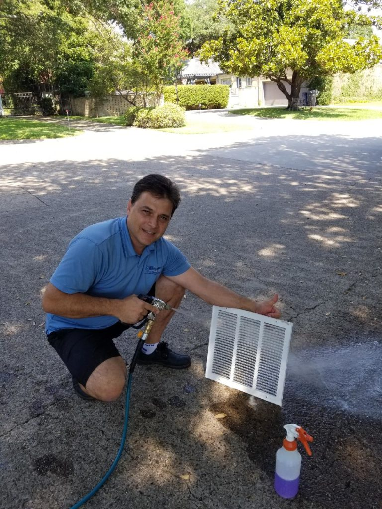 Cyclone Professional Cleaners Air Duct Grate Cleaning