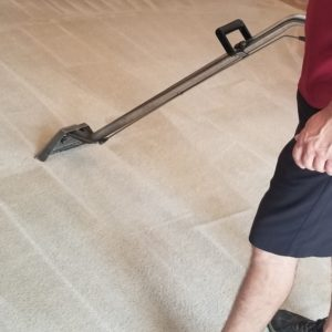 carpet cleaning in a restaurant in Plano Texas