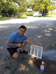 air duct grate cleaning