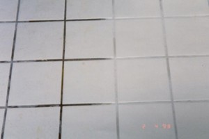 Ceramic Tile Before and After